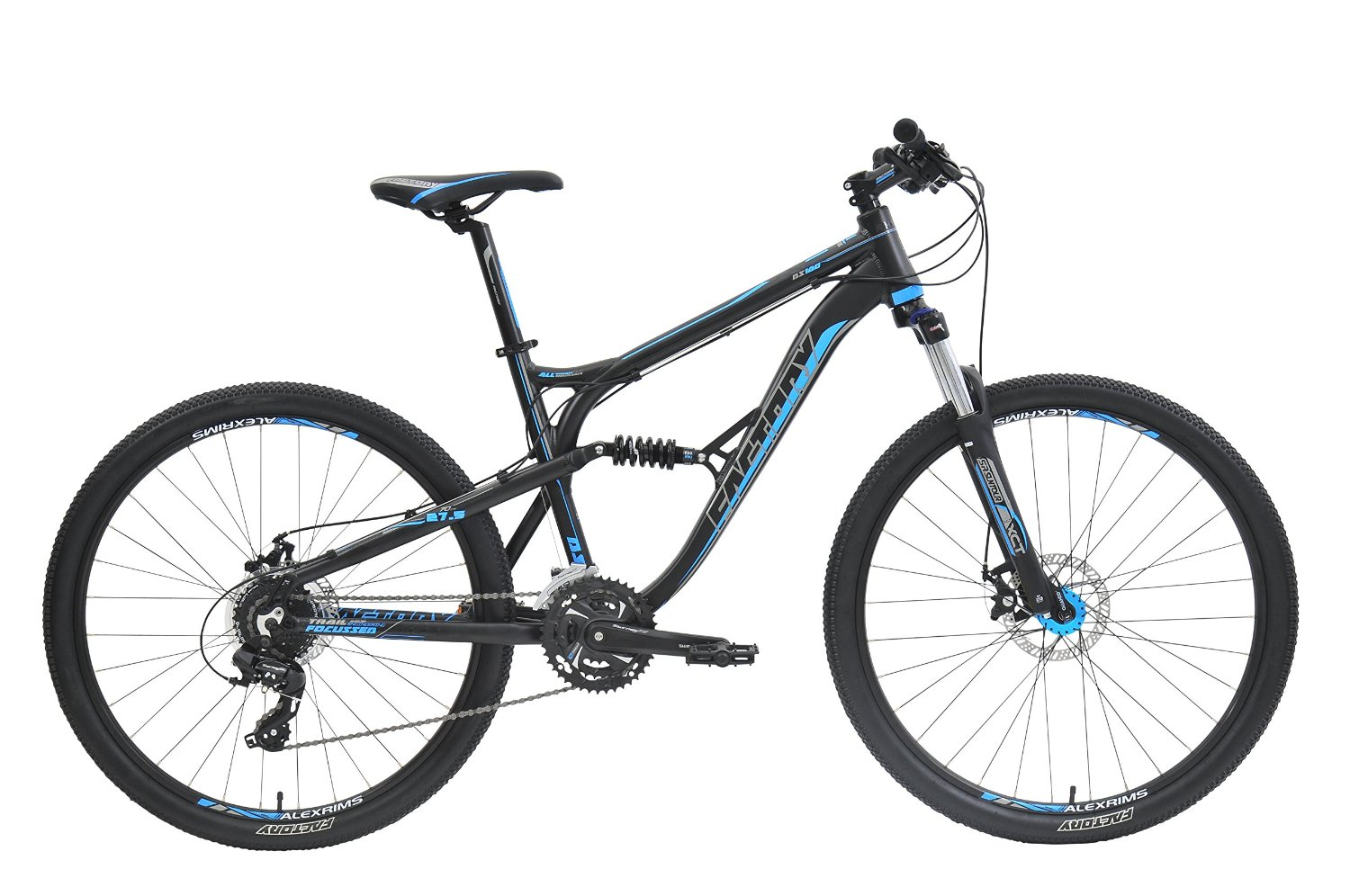 Factory DS180-27.5 Dual Suspension Mountain Bike