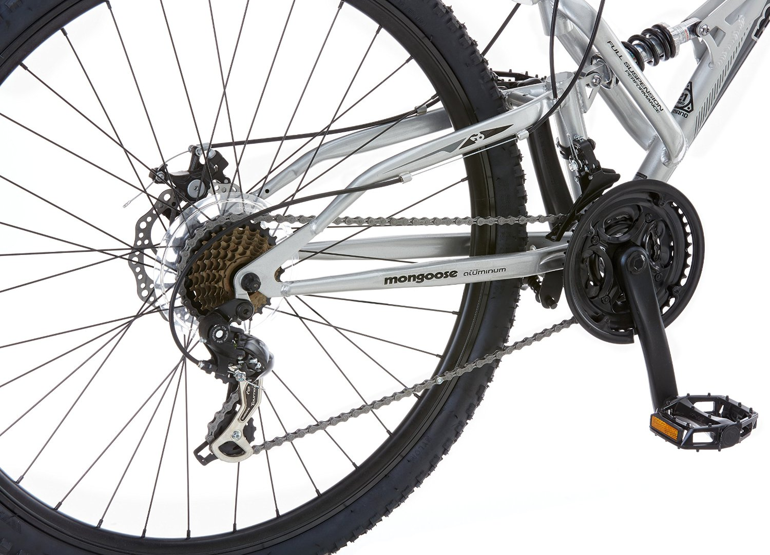Mongoose Impasse Dual Suspension