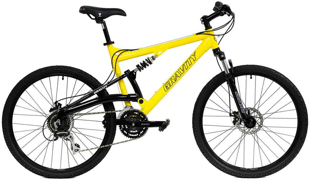 Best Mountain Bikes Under $500 - 2017 Gravity FSX 1.0