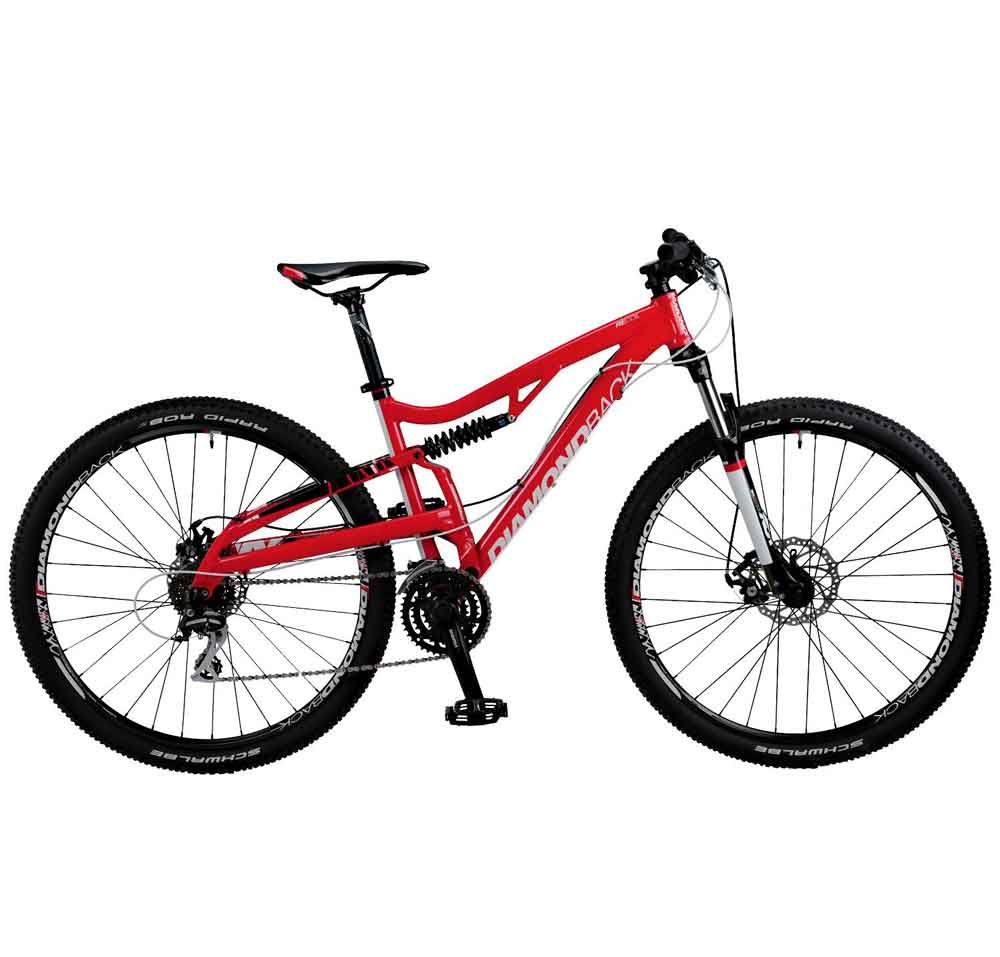 Best Mountain Bikes - Diamond Back Recoil Full Suspension